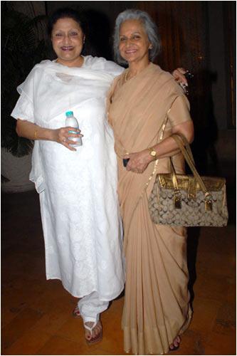 Bindu and Waheeda Rahman