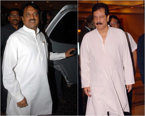 Vilasrao Deshmukh and Subroto Roy