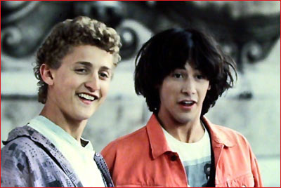 Alex Winter and Keanu Reeves