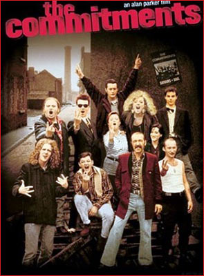 A poster of The Commitments