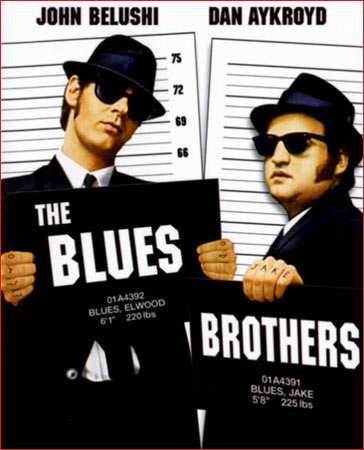 A poster of The Blues Brothers