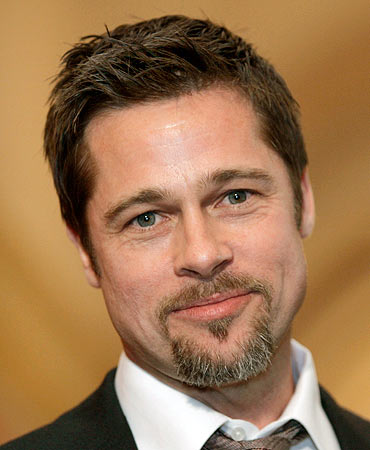 Brad Pitt landed the fourth spot with his new hairstyle for his upcoming