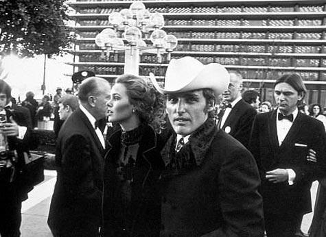 Michelle Phillips and Dennis Hopper