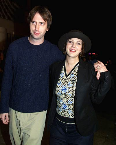Image: Tom Green and Drew Barrymore Photographs: Rose Prouser/Reuters