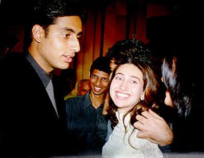 Karisma Kapoor and Abhishek Bachchan