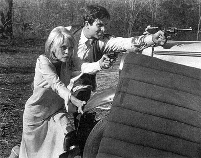A scene from Bonnie and Clyde
