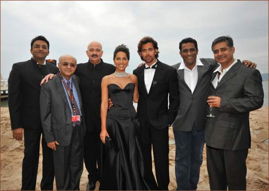 Sunir Kheterpal, Amit Khana, Rakesh Roshan, Barbara, Hrithik, Anurag Basu and Rajesh Sawhney