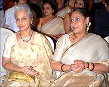 Waheeda Rahman and Jaya Bachchan