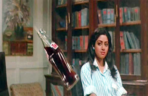 A scene from Mr India