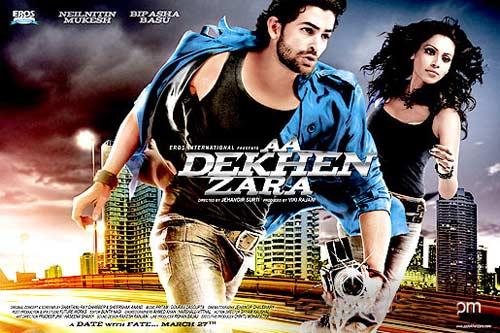 A poster of Aa Dekhen Zara