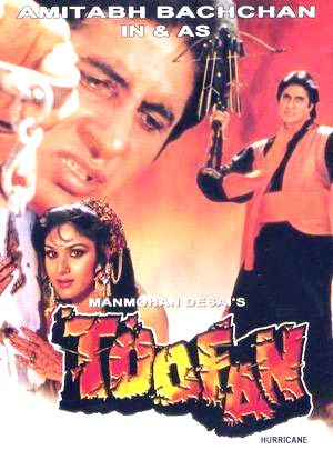 A poster of Toofan