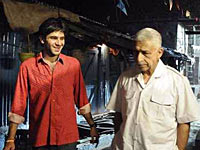 Arjun Mathur and Naseeruddin Shah in a scene from Barah Aana