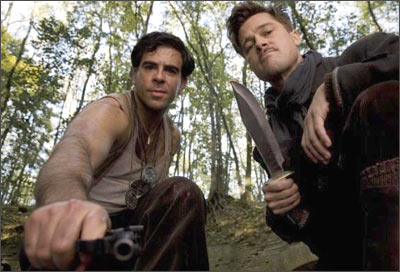 A scene from <I>Inglourious Basterds</I>