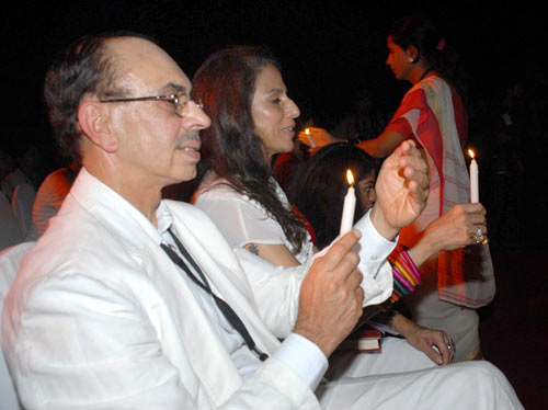 Adi Godrej and Shobha De