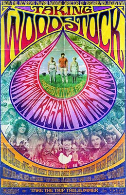 A poster of <I>Taking Woodstock</I>