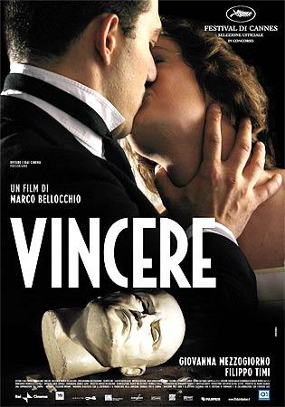 A poster of <I>Vincere</I>