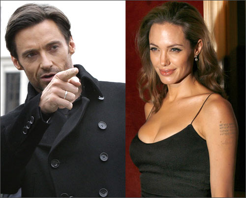 Hugh Jackman and Angelina Jolie