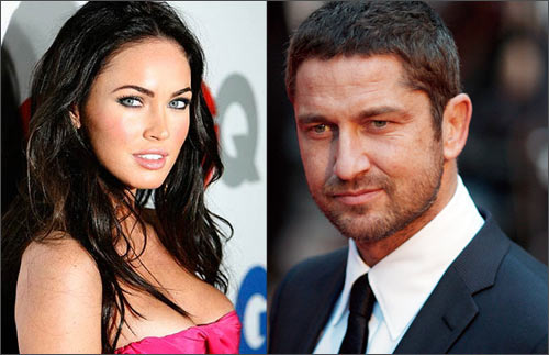 Megan Fox and Gerard Butler
