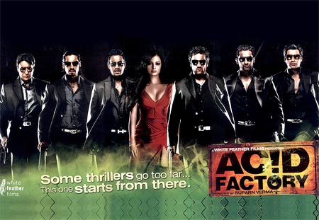 A poster of Acid Factory