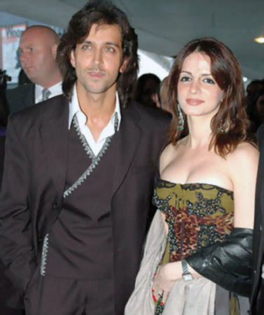 Suzanne khan and Hrithik Roshan