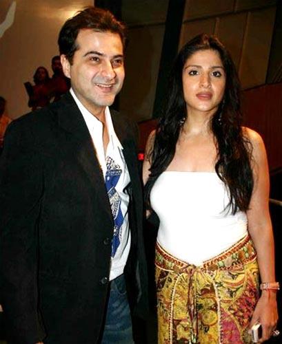 Maheep Kapoor and Sanjay Kapoor