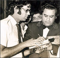 A file picture of Kishore Kumar