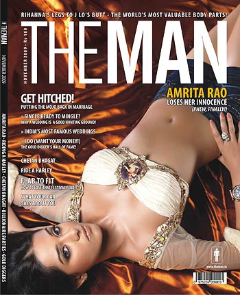 Sexy Amrita Rao The Man Mag Hot Scans