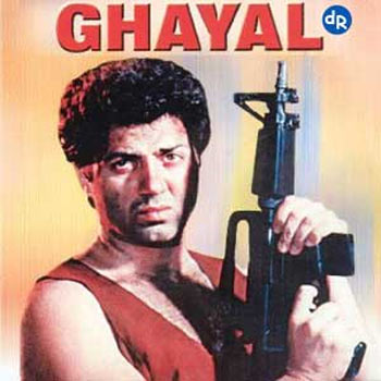 A scene from Ghayal