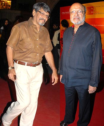 Amol Palekar and Shyam Benegal