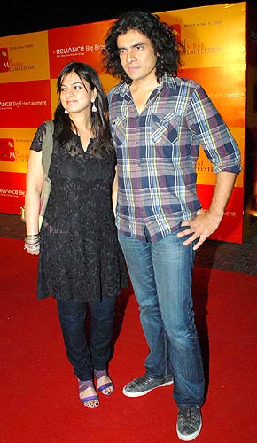 Priti and Imtiaz Ali