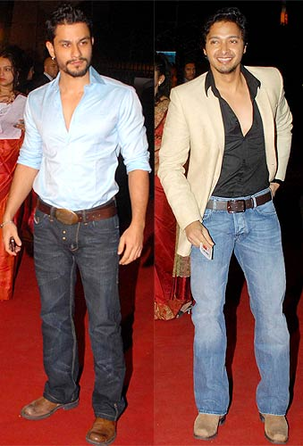 Kunal Khemu and Shreyas Talpade