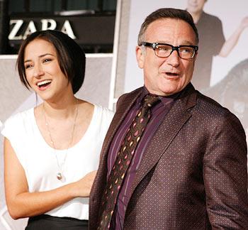 Zelda and Robin Williams