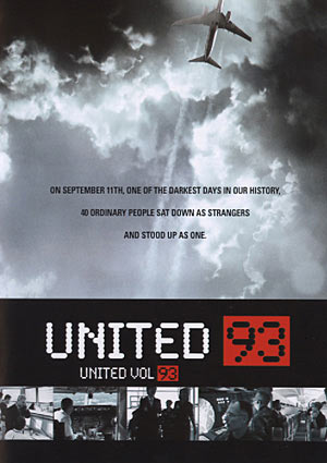 A poster of United 93