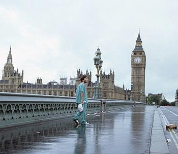 A scene from 28 Days Later