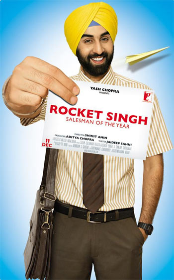 A poster of Rocket Singh: Salesman of the Year