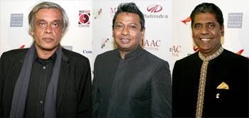 Sudhir Mishra, Onir and Vijay Amritraj