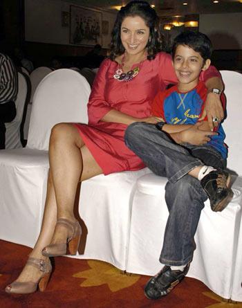 Tisca Chopra and Darsheel Safary
