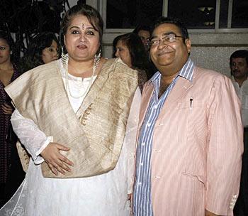 Reena Roy and Dr Mukesh Batra