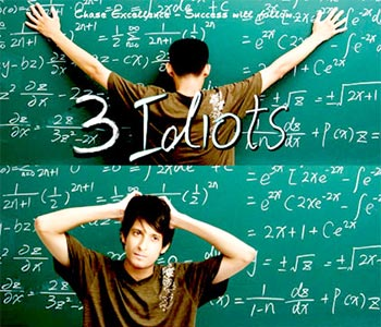 The 3 Idiots poster