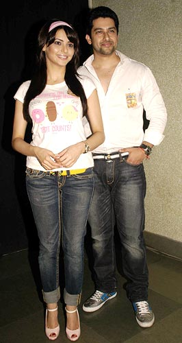 Aamna Shariff and Aftab Shivdasani