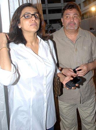 Neetu Singh and Rishi Kapoor