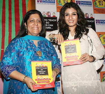Swati Popat Vat and Raveena Tandon