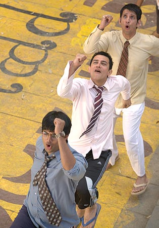A scene from 3 Idiots