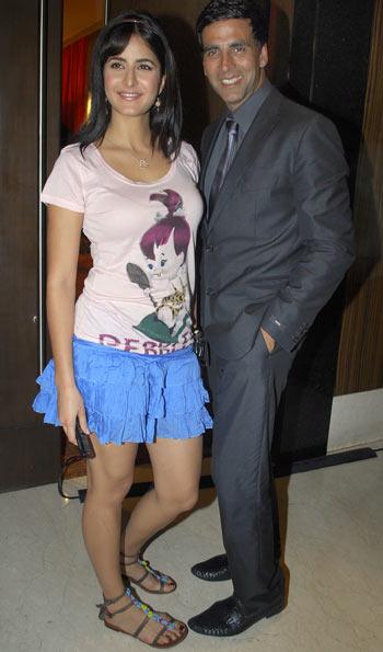 Katrina Kaif and Akshay Kumar