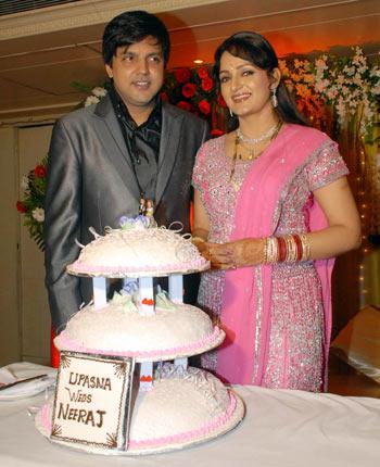 Neeraj and Upasana Singh