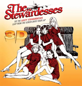 A poster of The Stewardesses