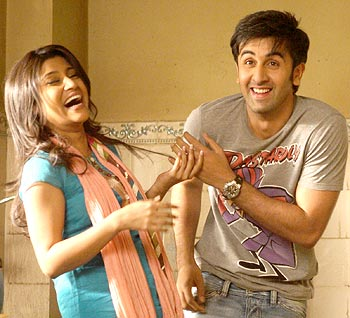 A scene from Wake Up Sid!