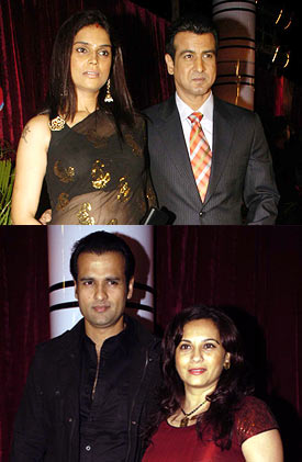 Ronit Roy and Neelam, Rohit Roy and Manasi Joshi Roy