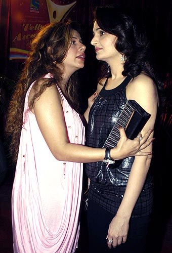 Sambhavna Seth and Monica Bedi