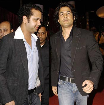 Rahul Mahajan and Rajeev Khandelwal